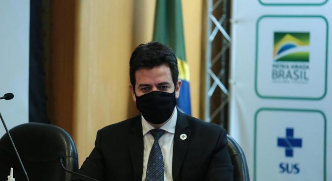 O secretário executivo do Ministério da Saúde, Rodrigo Cruz