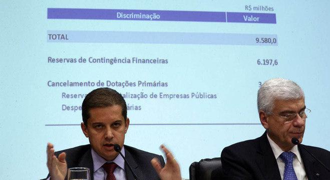 Secretários Gleisson Rubin (Planejamento) e Jorge Rachid (Receita) anunciam medidas