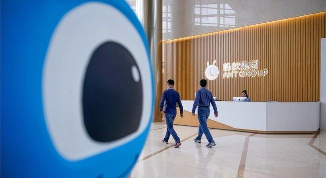 O serviço mais popular do Ant Group, o Alipay, começou como plataforma de pagamento do Alibaba
