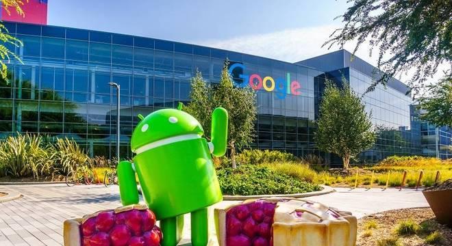 Sempre há algo para comer nos escritórios do Google