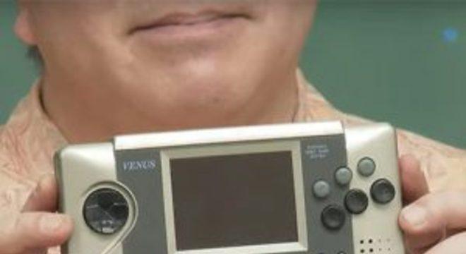 Sega mostra protótipo do portátil Sega Venus pela primeira vez