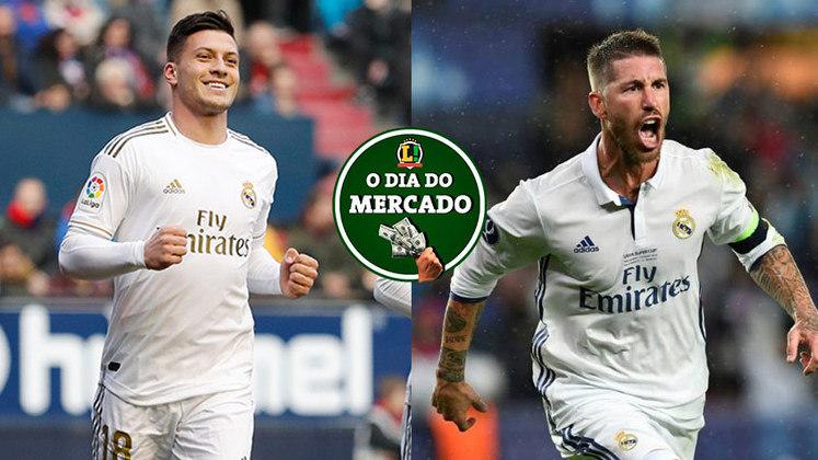 Segunda-feira quente no Mercado da Bola do futebol mundial. O PSG prepara oferta para tirar Sergio Ramos do Real Madrid em janeiro e o Milan quer contar com atacante que está em baixa no Real Madrid. Tudo isso e muito mais no Dia do Mercado.