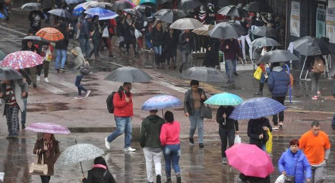 Segunda-feira típica de inverno em Porto Alegre Crédito: Alina Souza