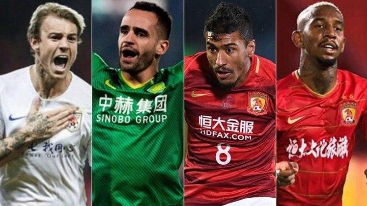 A Liga Chinesa está prevista para começar em julho, mas com uma série de restrições a estrangeiros que estão fora do país. Com as fronteiras do país fechadas, os jogadores brasileiros estariam com futuro incerto