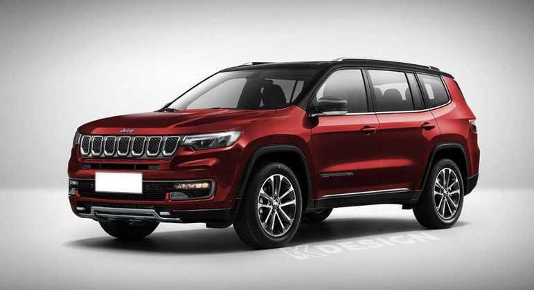 Commander será o nome do novo SUV de sete lugares da Jeep