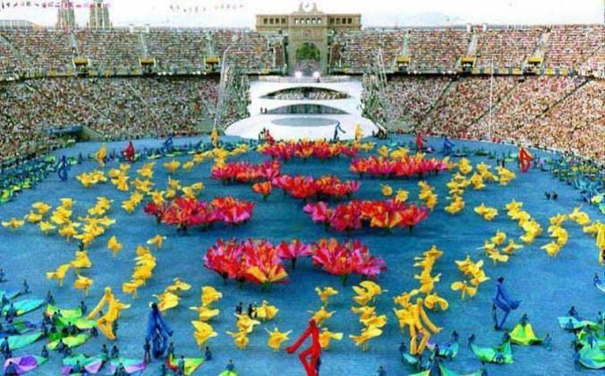 Seis países europeus tiveram a oportunidade de receber uma vez cada a Olimpíada: Espanha (Barcelona - foto), Finlândia, Suécia, Holanda, Itália e também a ex-União Soviética