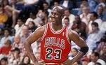 Seis vezes campeão da NBA, Michael Jordan se aventurou no beisebol e vestiu as cores do Chicago White Sox.