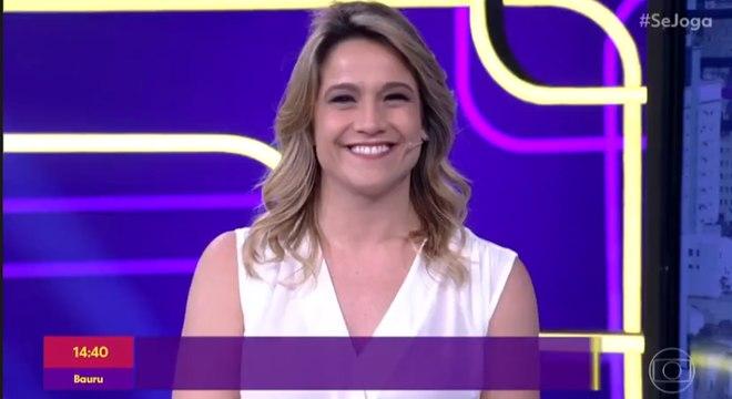 Fernanda Gentil agora estreia no 'É de Casa'