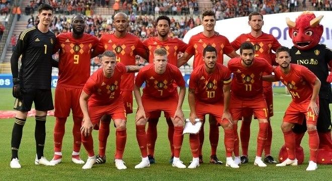 Seleção belga conta com 15 remanescentes da Copa de 2014