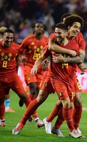 0fbaf68996 Bélgica passa França e se torna 1ª do ranking da Fifa  Brasil segue ...