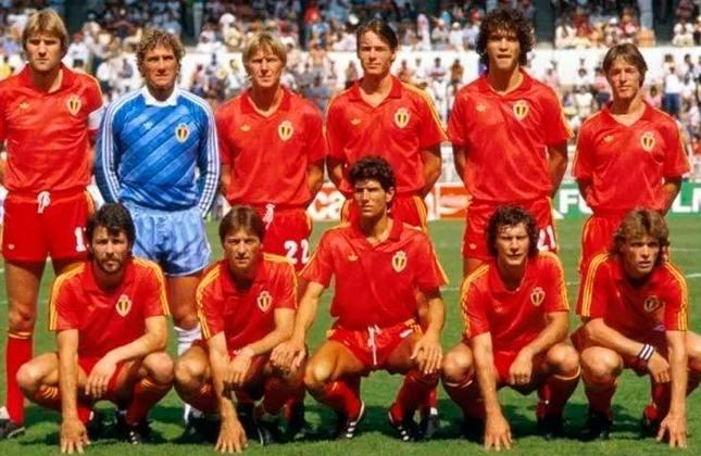 Seleção belga: um vice (1980)