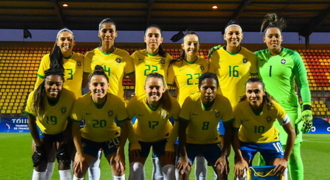 Seleção disputou torneio amistoso na França