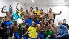 Ignorando críticas, Seleção comemora final da Copa América