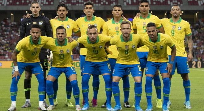 Última partida da seleção brasileira foi em novembro de 2019