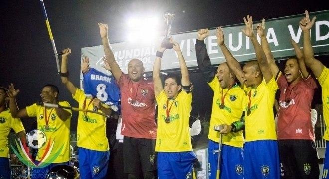 A seleção brasileira foi terceira colocada no Mundial do México, em novembro