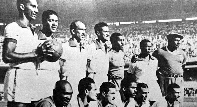 Seleção brasileira foi vice-campeã na Copa de 1950