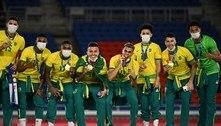 Pelé parabeniza seleção de futebol por mais um título olímpico