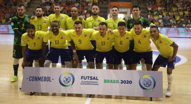 Brasil conquistou vaga no Mundial na Lituania após 2º lugar na Sul-Americana