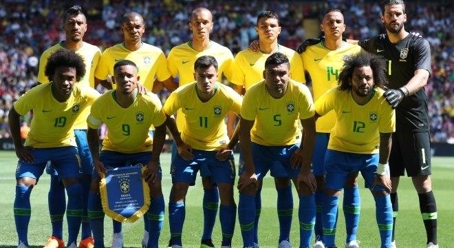 Seleção Brasileira no amistoso pré-Copa contra a Croácia