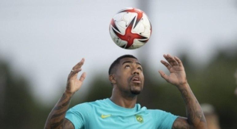 Seleção Brasileira Olímpica - Treino no Japão 02/08/2021 - Malcom