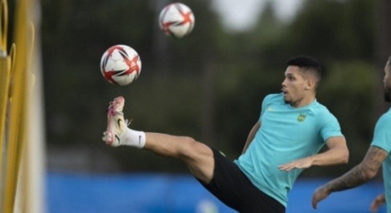 Seleção Brasileira Olímpica - Treino no Japão 02/08/2021 - Paulinho