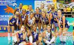 Brasil é derrotado, mas conquista Sul-Americano de vôlei femininoVEJA MAIS