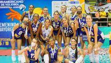 Brasil é derrotado, mas conquista Sul-Americano de vôlei feminino