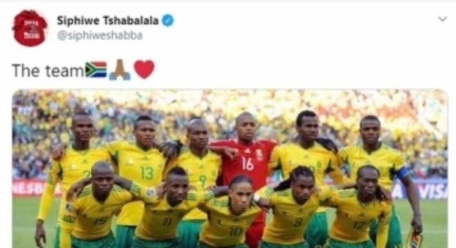 Seleção da África do Sul