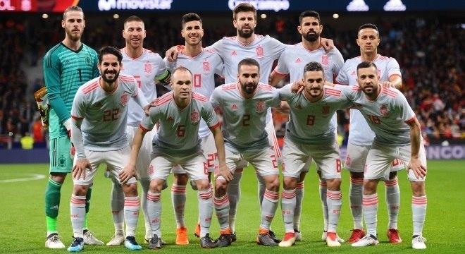 88e79c201dda0 O elenco da seleção da Espanha para a Copa do Mundo de 2018 - Copa ...