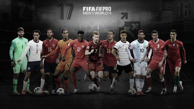 Seleção da Fifa. Escolhida por mais de 15 mil jogadores. Sem Neymar