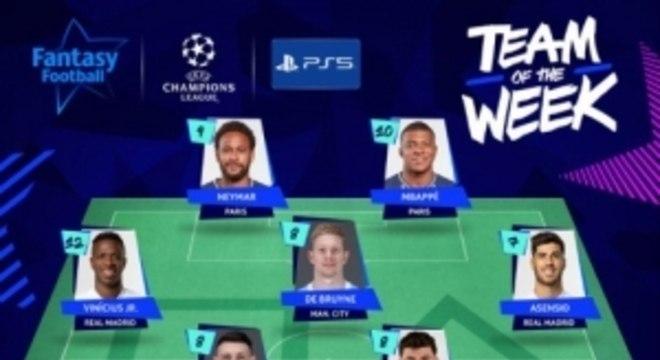 Seleção da semana da Champions League