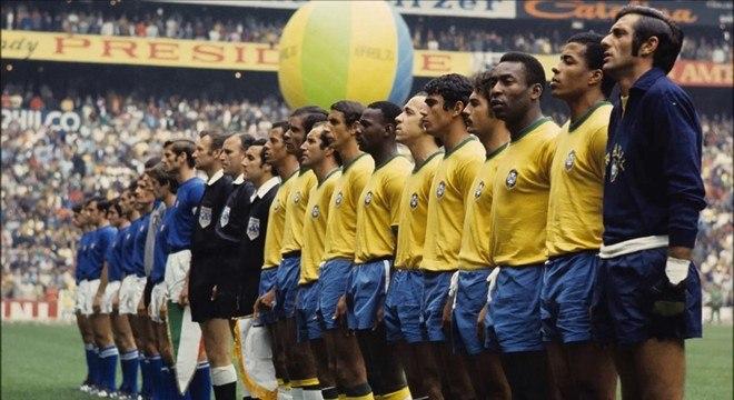 A sensacional Seleção Brasileira de 70. Tricampeã do mundo no México