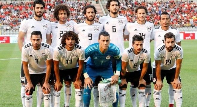 O elenco da seleção do Egito para a Copa do Mundo de 2018 - Copa ... d6a9fc4c82e68