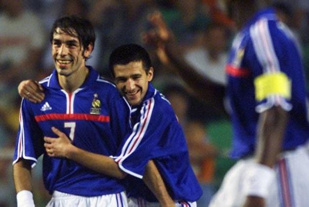 Seleção francesa: dois títulos (1984 e 2000) / Um vice (2016)