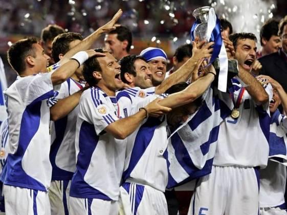 Seleção grega: um título (2004)