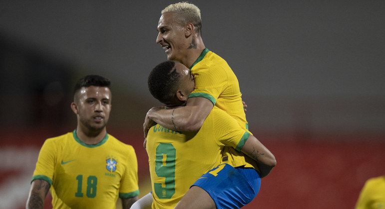Seleção olímpica vence os Emirados Árabes por 5 a 2 em último amistoso antes dos Jogos