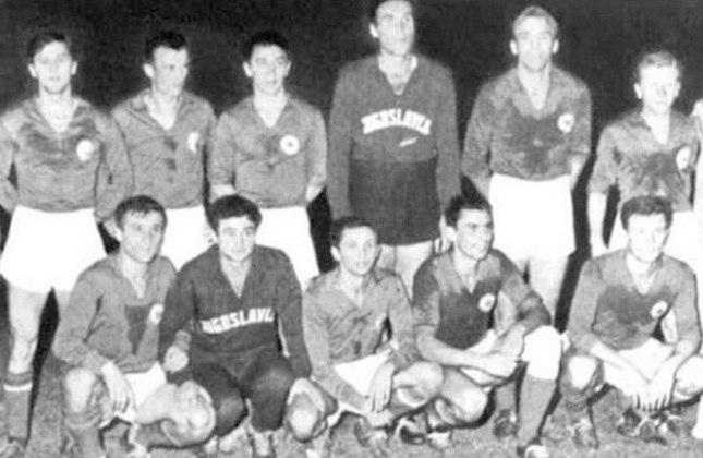 Seleção sérvia: dois vices (1960 e 1968)