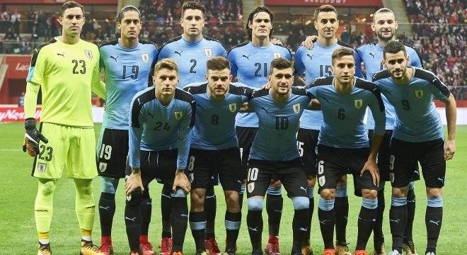 0a5aa22a14 O elenco da seleção do Uruguai para a Copa do Mundo de 2018 - Copa ...