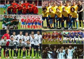 e6ee0fc96c Cada uma das 32 seleções classificadas para disputar a Copa do Mundo da  Rússia é conhecida ...