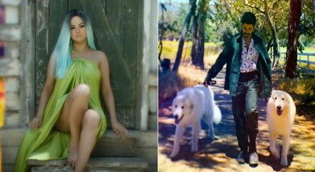 Clipe de '999' mostra Selena Gomez e Camilo em cenários que mudam de cor