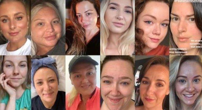 Mulheres reagiram ao pedido da modelo publicando suas fotos