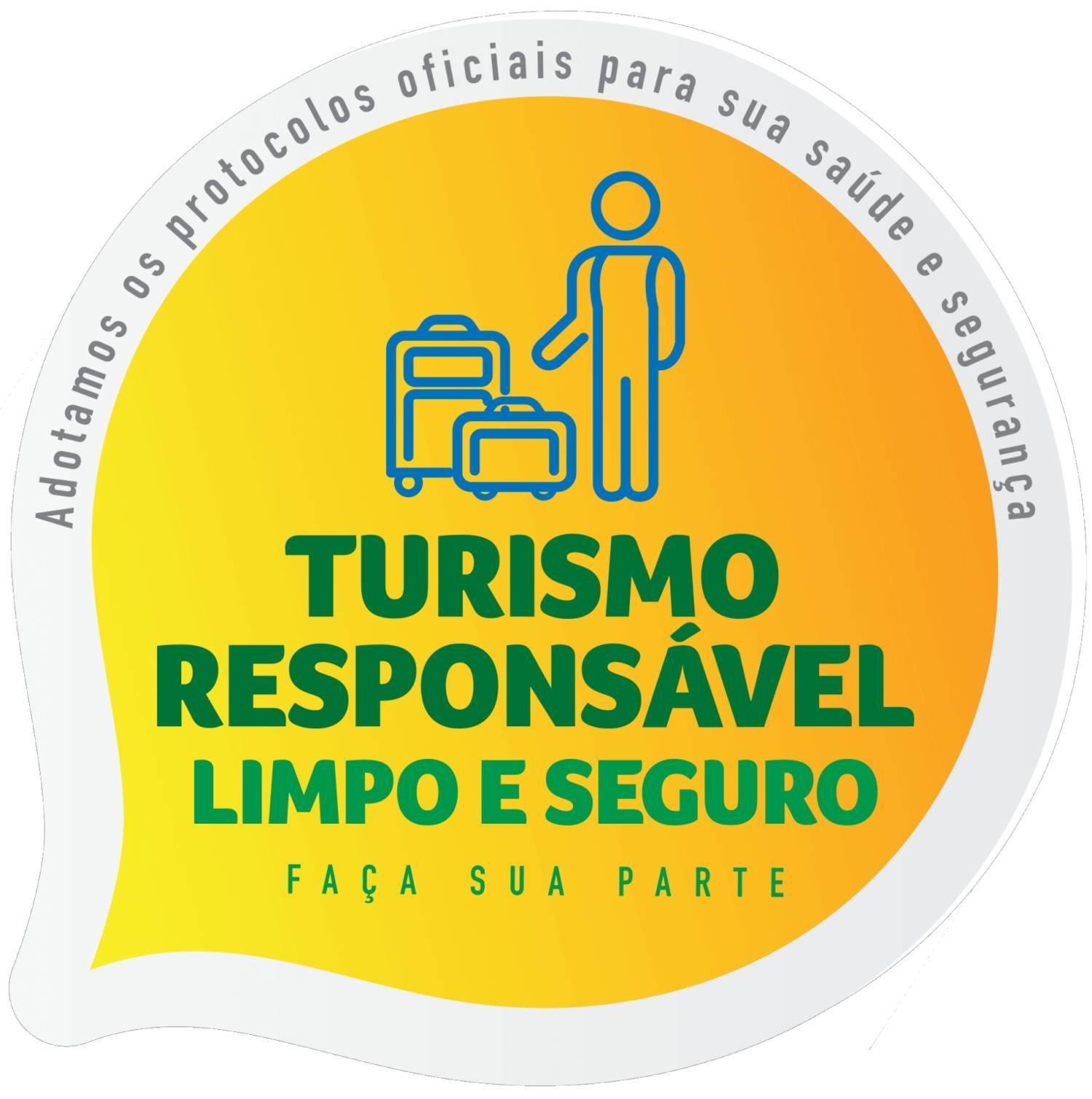 Selo de adesão identifica os estabelecimentos que aderiram aos protocolos de saúde, higiene e segurança