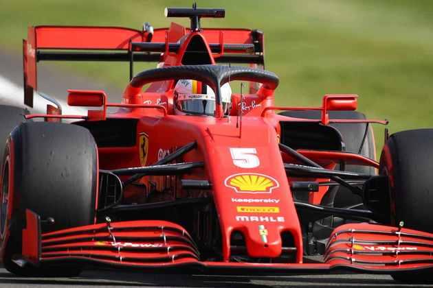 Sem anotar tempo na manhã, Vettel ficou com 1min28s860 na parte da tarde