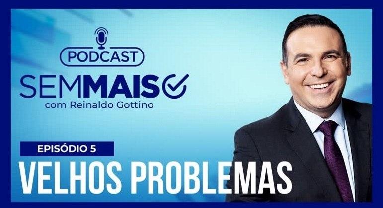 Gottino comanda o podcast Sem Mais, que discute política e economia de forma simplificada
