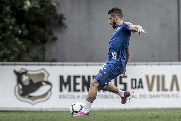 Sem muitas oportunidades no Santos, o atacante Lucas Venuto foi emprestado ao Sport até dezembro de 2022, mesmo término do contrato com o Santos.