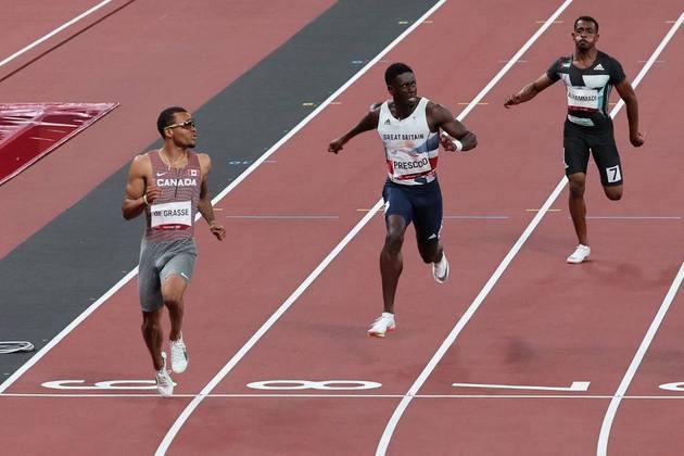 Sem o tricampeão olímpico Usain Bolt no caminho, o canadense Andre De Grasse é o grande favorito pela medalha de ouro nos 100m rasos em Tóquio. O velocista fez o melhor tempo das eliminatórias e terminou a prova em 9s91.