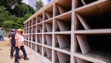 Em um mês, número de sepultamentos triplica em Manaus