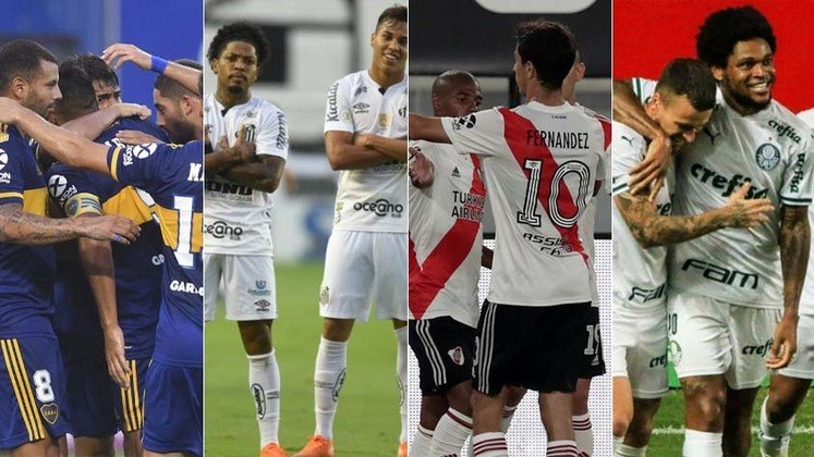 Semifinais da Libertadores - Logo nas duas primeiras semanas do mês, dois duelos de peso entre Brasil e Argentina vão decidir os finalistas da Libertadores. De um lado, Palmeiras x River Plate. Do outro, Santos x Boca Juniors