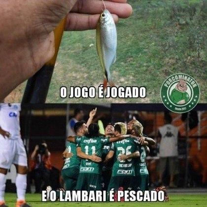 Semifinal do Paulistão 2018 (27/03/2018): o Palmeiras venceu a partida de ida por 1 a 0 e perdeu a de volta por 2 a 1. Mais uma decisão por pênaltis e, dessa vez, quem brilhou foi Jaílson