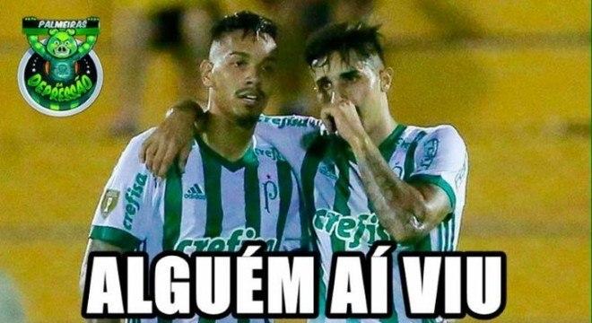 Semifinal do Paulistão 2018 (27/03/2018): o Palmeiras venceu a partida de ida por 1 a 0 e perdeu a de volta por 2 a 1. Mais uma decisão por pênaltis e, dessa vez, quem brilhou nas duas finais foi Jaílson